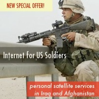 Satellite Broadband for Camp Blackjack in Afghanistan