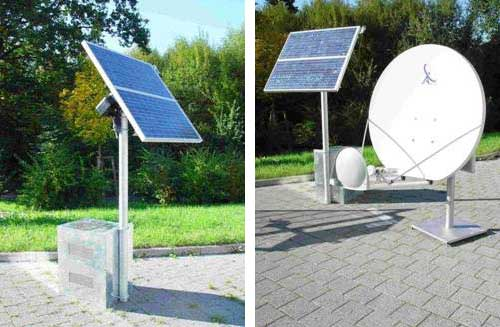 Independent Solar Energy Power System For Disaster Recovery